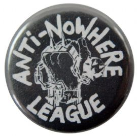 Anti-Nowhere League - 'Logo' Button Badge